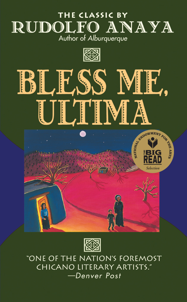Bless Me Ultima book cover