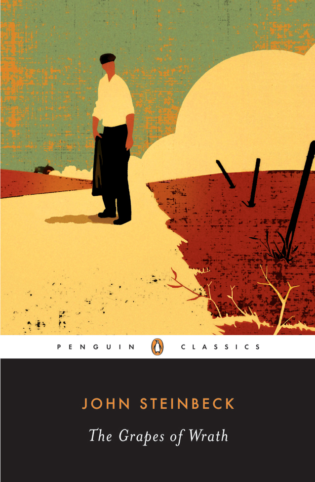The Grapes of Wrath book cover