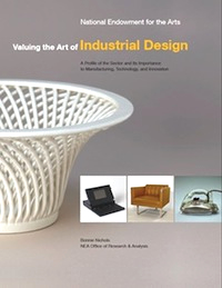 Cover of Valuing the Art if Industria Design
