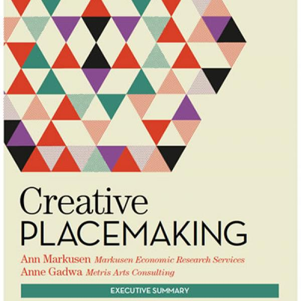 Cover of Creative Placemaking report