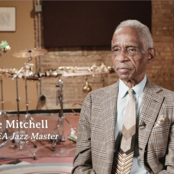 Roscoe Mitchell at home
