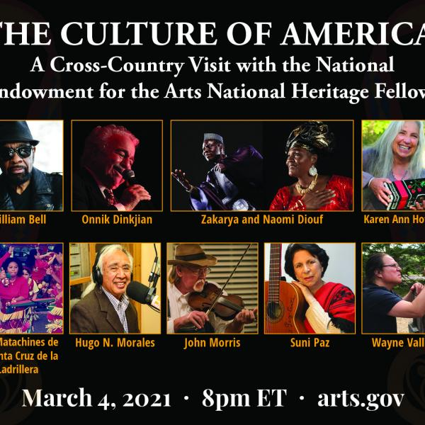 Photos of the 2020 National Heritage Fellows