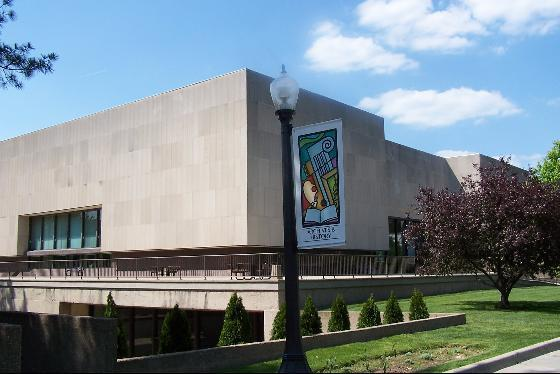 The outside of the Culture Center in Charleston, West Virginia