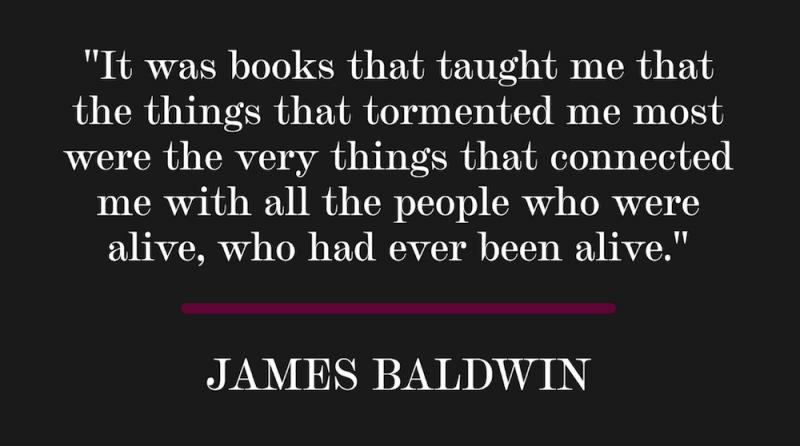 quote by James Baldwin