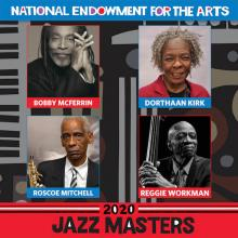 collage of photos of 2020 NEA Jazz Masters