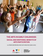 Cover of The Arts in Early Childhood research report