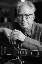 Image of Bill Frisell in black and white