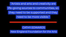 graphic treatment of Cathy Edwards quote