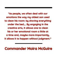 quote by Commander Moira McGuire