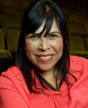 headshot of theater artist Diane Rodriguez