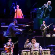 collage of various performers at last year's NEA Jazz Masters tribute concert