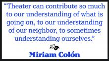 quote by Miriam Colon