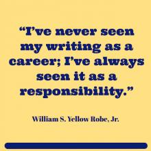 quote by William S. Yellow Robe Jr.