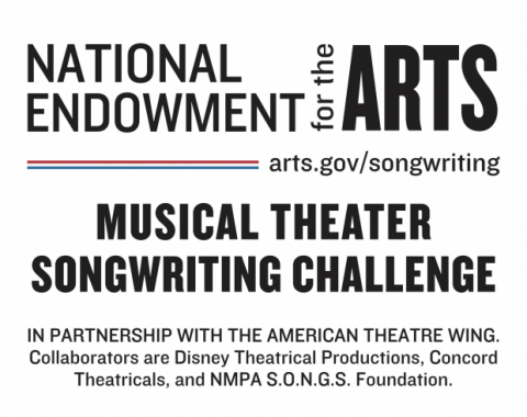 National Endowment for the Arts Musical Theater Songwriting Challenge