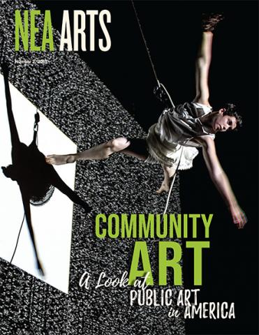 NEA Arts No 2 2018 cover