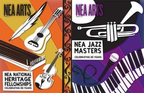 NEA Arts Cover