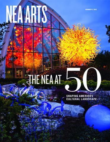 Cover of NEA Arts No 2 2015