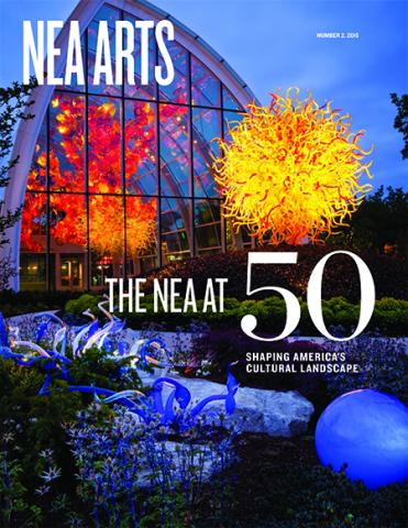 Cover of NEA Arts No 2 2015