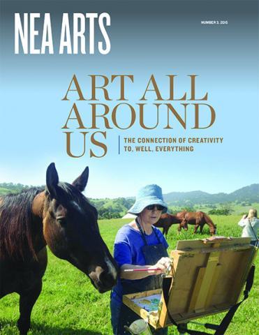 NEA Arts cover.