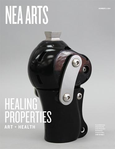 Cover of NEA Arts No 3 2014