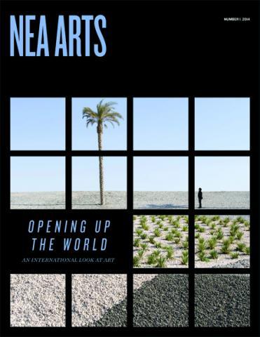 NEA Arts cover no1 2014