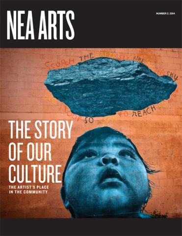 NEA Arts cover no2 2014