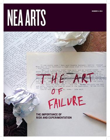 Cover of NEA Arts No 4 2014