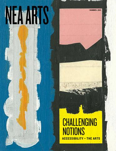 Cover of NEA Arts No 1 2015