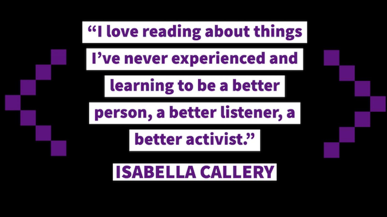 quote by Isabella Callery