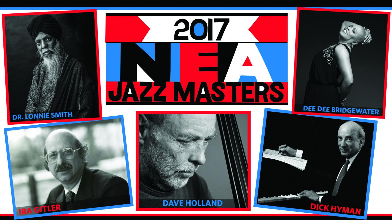 Photos of 2017 NEA Jazz Masters