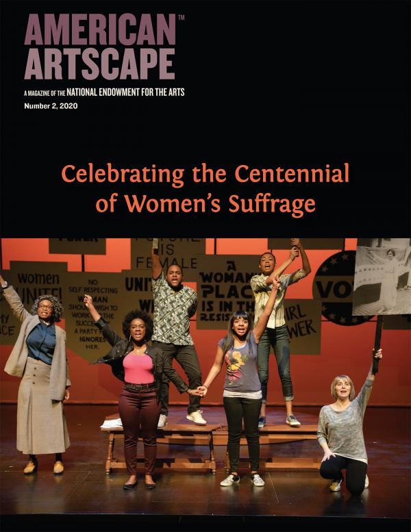 Cover of American Artscape No 2 2020