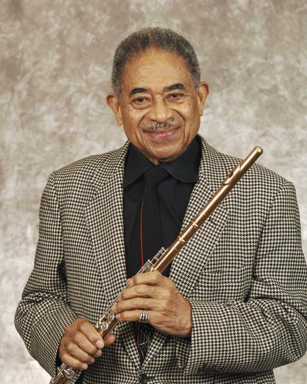 Portrait of Frank Wess