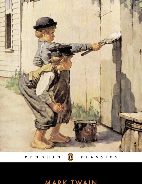 Adventures of Tom Sawyer book cover