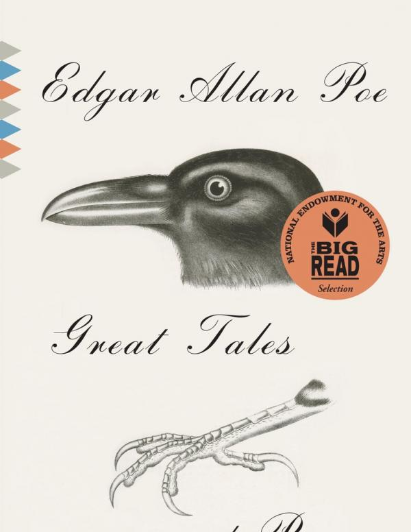 Edgar Allan Poe book cover.