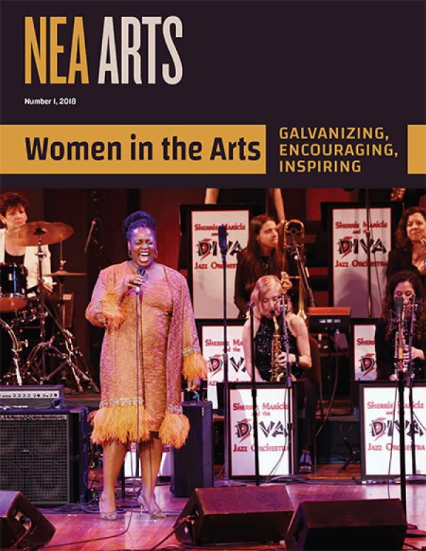 Cover of NEA Arts No 1 2018