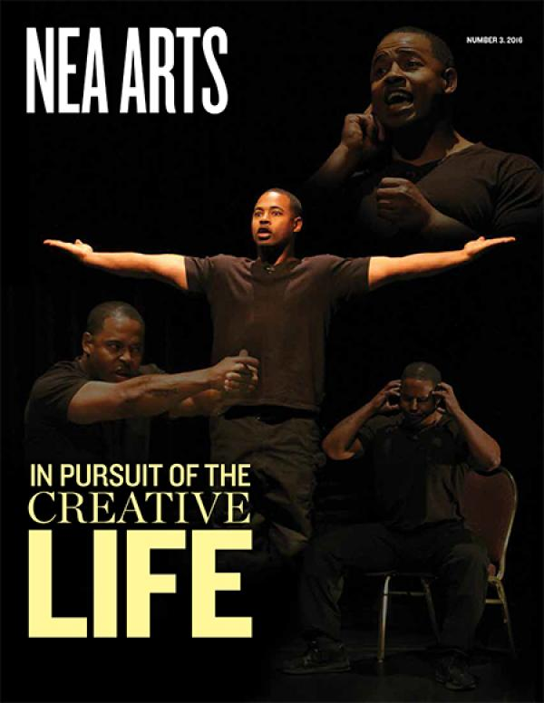 Cover of NEA Arts No 3 2016