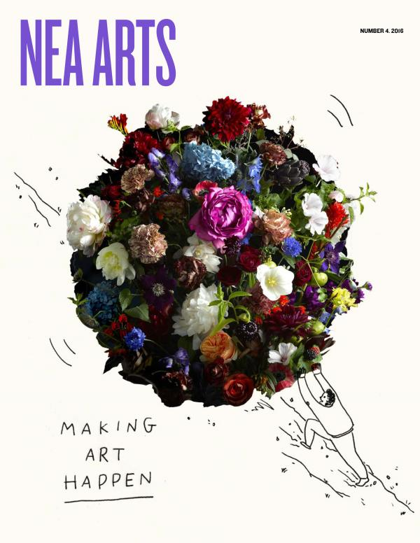 NEA Arts 2016 no. 4 Cover